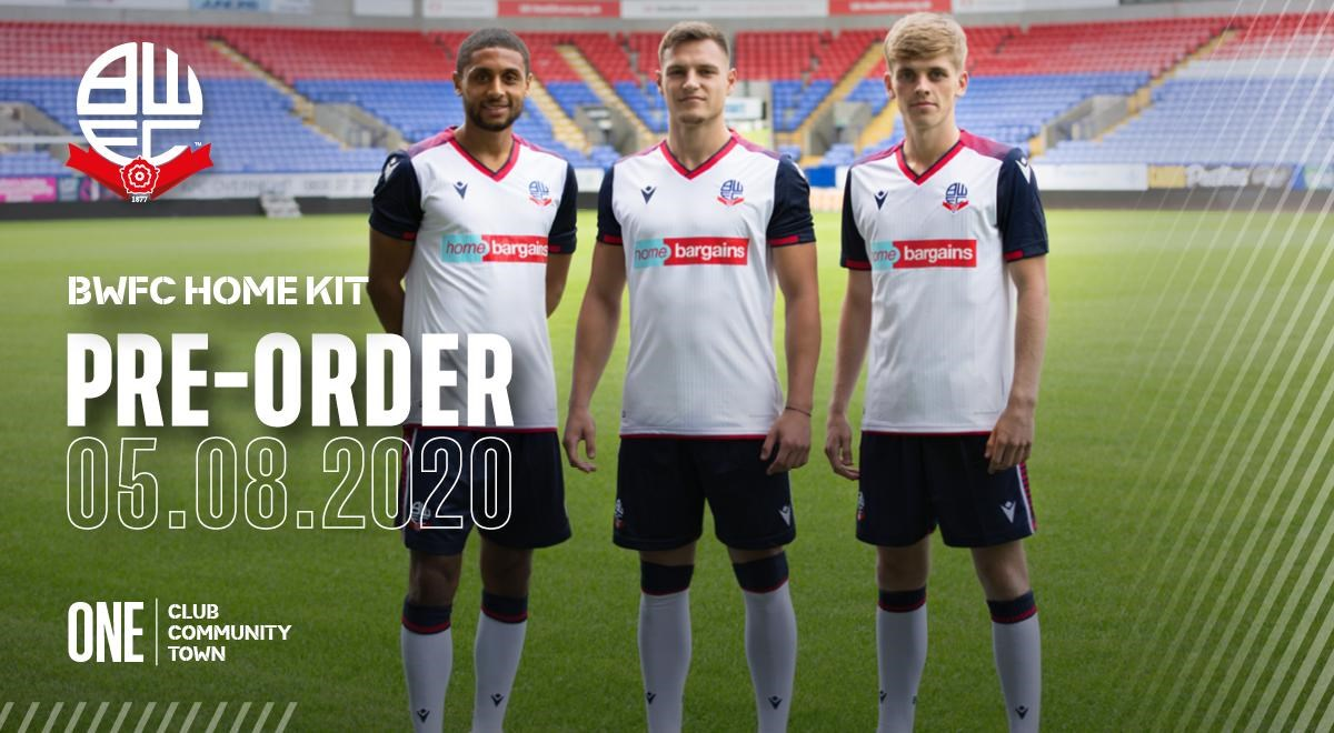 Wanderers Reveal Brand New Macron Home Kit Ahead Of New Campaign News Bolton Wanderers