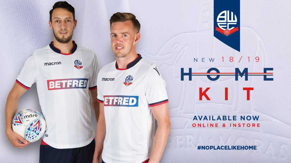 085fc9a93b3 Wanderers 2018 19 home shirts on sale now!
