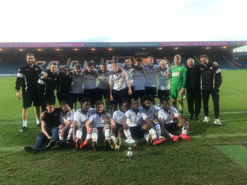 Bolton Wanderers Under-15s win Floodlit Trophy Final Large