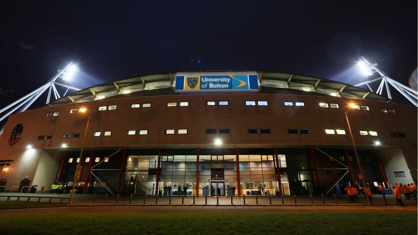 Welcome to the University of Bolton Stadium - News - Bolton Wanderers